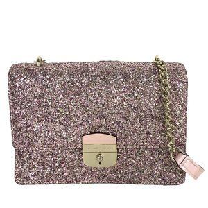 NWT Kate Spade Sunset Lane Rose Gold Glitter Crossbody Purse Bag